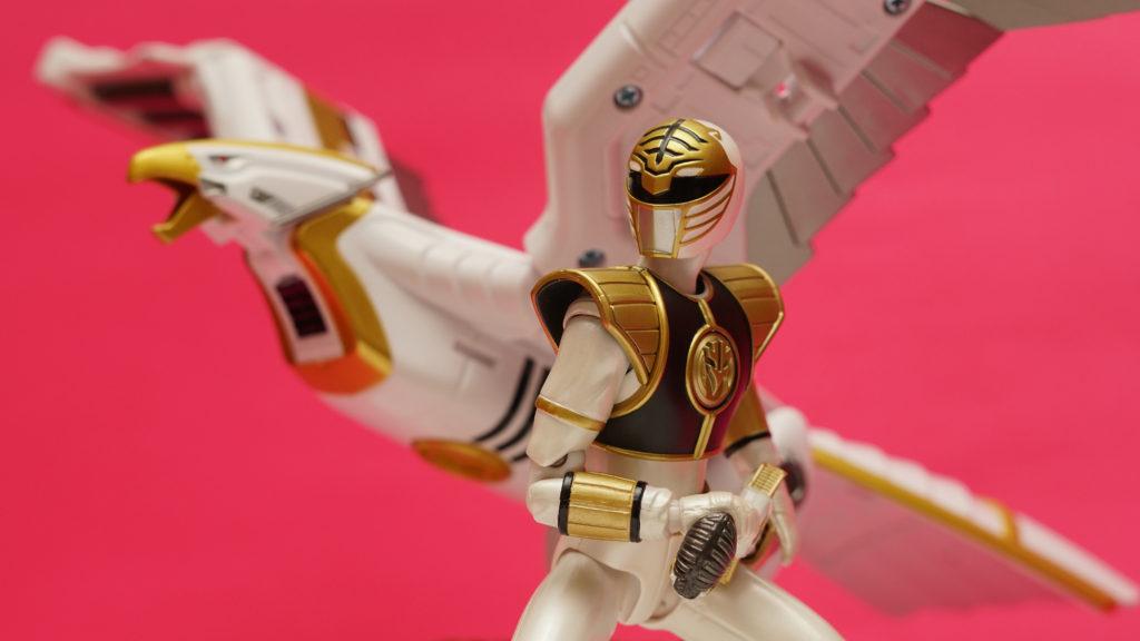 Falconzord - White Ranger