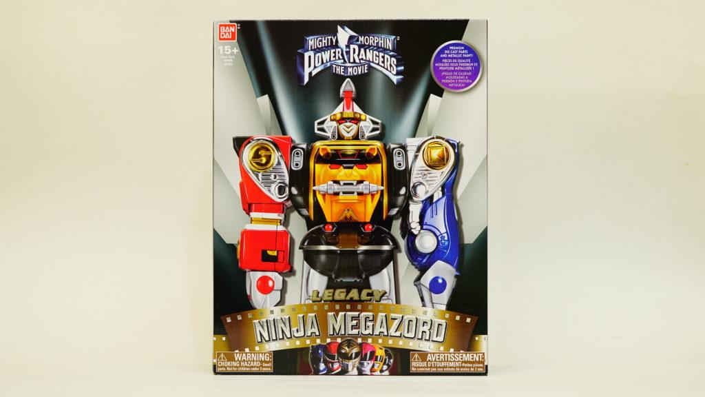 Ninja Megazord box