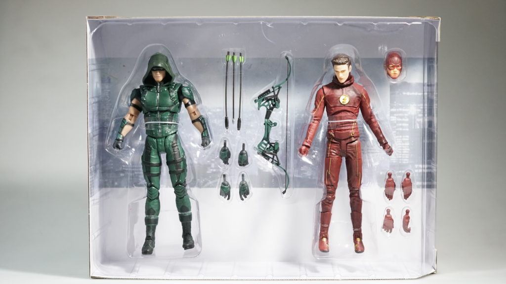 TOY REVIEW: NEW Arrow and Flash DCTV 2-pack figure