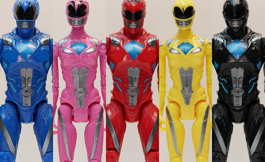 toy review power rangers 2017 basic movie figures justveryrandom