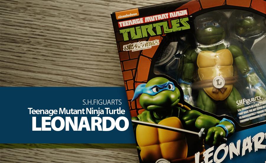 Toy Review S H Figuarts Tmnt Leonardo Justveryrandom