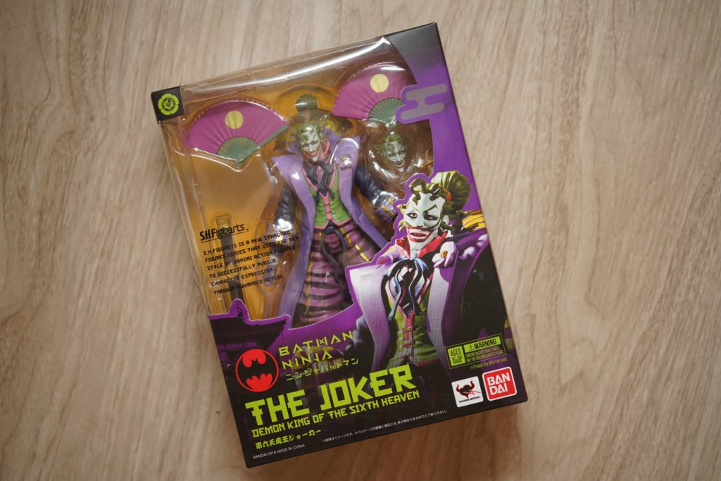 Toy Review S H Figuarts Joker Ninja Batman Justveryrandom